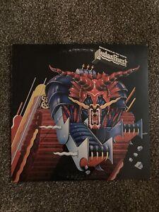 Judas Priest Defenders Of The Faith 1984 Vinyl Lp - FC 39219 - VG+/VG+.
