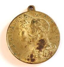 1911 King George V Coronation Medal Elect Cocoa (a)