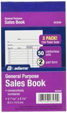 Adams General Purpose Sales Books Dc3530 Case of 18