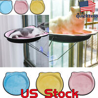 Cat Hammock Window Mounted Hanging Bed EVA Pendant Easy to Install Rest House US