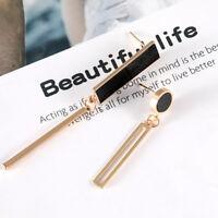 Eg _ Silber / Gold Einzigartig Damen Asymmetrisch Rechteckig Rund Ohrringe
