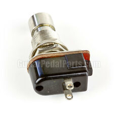 SPST Momentary Foot Switch, Normally Closed, for Guitar Pedals