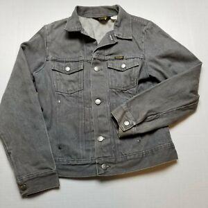 Vtg Wrangler Youth Demin Jacket Boys Large Gray Kids USA 90s R6