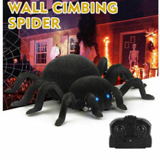 RC Scary Creepy Wall Climbing Spider Remote Control Toys Prank Kids Child Gifts