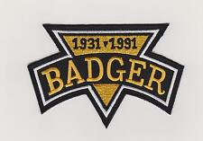 BADGER BOB JOHNSON MEMORIAL PATCH NHL PITTSBURGH PENGUINS JERSEY SLEEVE LOGO