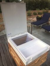 Awesome Bee Hive Cover With Feeder Amp Inspection Window No Need To Smoke Bees