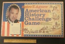 Rare, Sealed! SPIRO T. AGNEW AMERICAN HISTORY CHALLENGE GAME 1971 by Gabriel