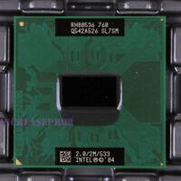 Intel Pentium M 760 SL7SM CPU Processor 533 MHz 2 GHz
