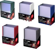 More details for ultra pro regular coloured border toploaders top loaders hard card sleeves
