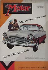 Motor magazine 2/9/1959 featuring MGA road test, Elvia Courier, Ford, Rover