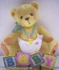 Cherished Teddies Baby Block Nightlight 203947 Nib * Free Usa Shipping!