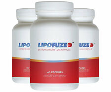 LIPOFUZE 3pack - Hardcore Weight Loss Pill - Weight Management Diet Pill