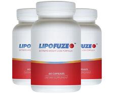 LIPOFUZE 3pack - Hardcore Weight Loss Pill - Weight Management Diet Pill