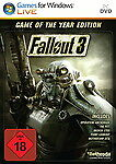 Fallout 3 - Game Of The Year Edition (PC, Nur Steam Key Download Code) Keine DVD