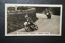 Isle of Man  Lightweight Tourist Trophy   Rudge   1930's Vintage Card  # VGC