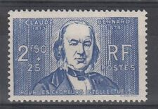 STAMP / TIMBRE DE FRANCE NEUF N° 464 ** CELEBRITE / CLAUDE BERNARD