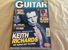 October 1997 England The GUITAR Magazine Vol 7 No 12 KEITH RICHARDS, Slash/Roses