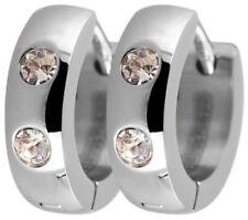 Bisutería de color principal plata con piedra de acero inoxidable