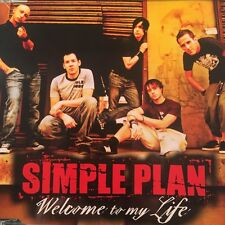 Simple Plan - Welcome To My Life 3 Track CD Single 2004 Australia Mint
