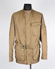 Timberland Hombre Chaqueta Abrigo con cinturón talla XL, Genuino