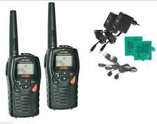 2 TALKIE WALKIE INTEK MT3030 12KM + 2 CHARGEUR+ 2 MICROCASQUE PMR446 + LPD NEUF