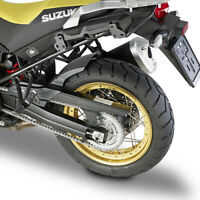 MG3114 GIVI Guardabarros ABS Negro Para Suzuki DL 1000 V-Strom 2017 2018 2019