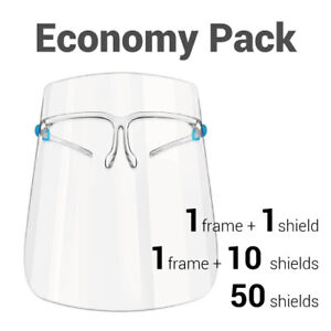 10/50 pieces Face Shield Protector for kitchen prevent dust oil droplet