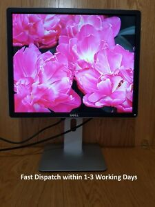 "Dell 19"" inch IPS LED DisplayPort (DP) DVI VGA USB Hub Monitors. Dell P1914Sc"