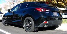 ROKBLOKZ Rally Mud Flaps for the '14+ Mazda3 Hatchback Mazda 3 Hatch 2014