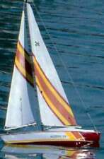 "Dumas #1117 24"" Hudson Wooden Sailboat Kit~Mib"