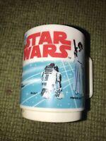 Vintage STAR WARS 1977 DEKA Plastic Mug Cup * A New Hope Darth Vader