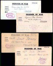 Italy 1944 POW letter sheets from Algeria/US EXAMINER