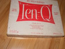 Ten-Q game Tenk-you vintage complete