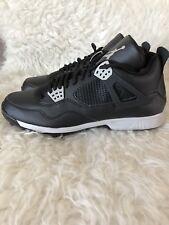 New Nike Air Jordan IV 4 Retro Metal Baseball Cleats Mens Size 11 807710-010