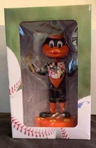 Baltimore Orioles Oriole Bird Maryland Flag Bib Old Bay Bobble Head MLB NEW