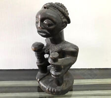 IVORY COAST EARLY AFRICAN CARVED WOOD SCULPTURE
