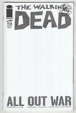 Walking Dead #115 (Oct 2013, Image) Blank Variant [All Out War] Kirkman, Adlard