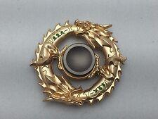 Unique Design Fidget Spinner-Gold Dragon