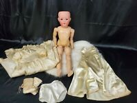 "Antique GERMAN 22"" - HEUBACH KOPPELSDORF bisque Doll SLEEP EYES number 312 SUR 1"