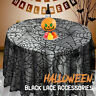 Halloween Spider Web Tablecloth Gorey Horror Cloth Party Deco Table Cover Home