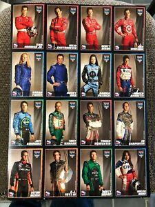 RARE INDY CAR INDIANAPOLIS 500 2007 UNCUT CARD SHEET DAN WHELDON DANICA PATRICK