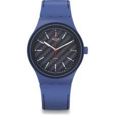 New Swatch Sistem51 Sistem Aqua Silicone Automatic Mens Swiss Watch SUTN402