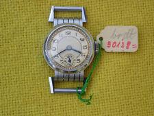Handaufzug Armbanduhr, Bewegliche Bandanstöße, ca. 1940 Lagerware ?, defekt