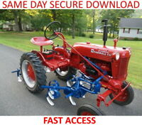 Farmall Cub IH Tractor Service & Operation Manuals - FAST ACCESS