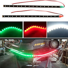 "3x Boat Navigation LED Lighting RED,GREEN,WHITE 12"" Waterproof Marine LED Strips"