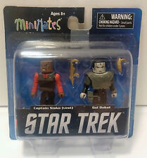 "Star Trek DS9 Captain Sisko Gul Dukat Minimates 2"" Figure 2013 Damaged Package"