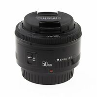 Yongnuo YN 50mm F/1.8 EF AF MF Prime Fixed Lens for Canon 700D 100D 5D3 60D 7D