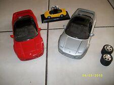 Modellauto 1:18 Modell 3 Autos Auto Honda NSX Sammlung Tuning Felgen Revell 1992