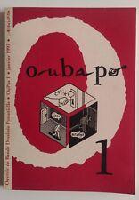 EO 10/1996 Oubapo Oupus 1 Ouvrage collectif L'association