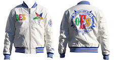 Order of the Eastern Star OES Jacket- White-Size XL-New!